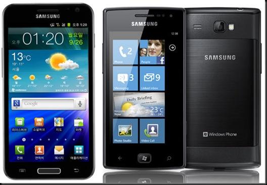 Sansung anuncia os smartphones GALAXY S II LTE, GALAXY S II HD LTE e Omnia W, mercado, lançamento