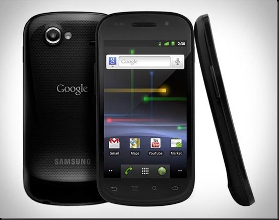 Samsung Google Nexus S 4G; As 5 melhores novidades do Android Ice Cream Sandwich; smartphone Galaxy Nexus, da Samsung, o Android 4.0 vem carregado de novidades para smartphones e tablets