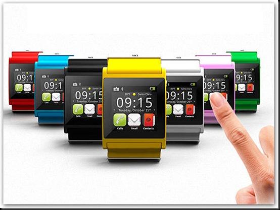 Italianos criam smartphone de pulso com Android, O i'm Watch oferece a maioria dos recursos de um smartphone comum num formato de pulso. O difícil vai ser navegar na web na telinha de 1,5 polegada