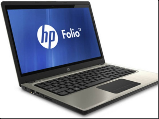 HP apresenta Folio, seu primeiro 'ultrabook'