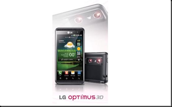 LG irá atualizar 4 aparelhos Optimus para o Ice Cream Sandwich, LG Optimus 3D, LG, Android