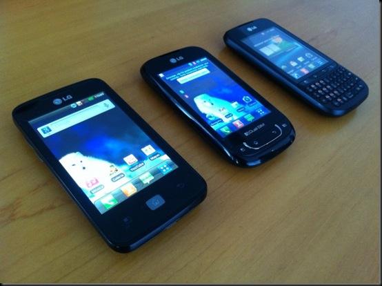 LG expande linha de smartphones com mais três aparelhos, Optimus Net Dual, Optimus Pro, Optimus Hub, lançamento, LG, Smartphones