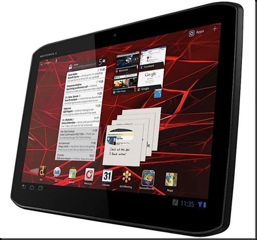 Motorola Xoom 2, Motorola confirma dois modelos do Xoom 2, Foram anunciados apenas modelos com Wi-Fi, que começarão a chegar às lojas no Reino Unido no meio de novembro