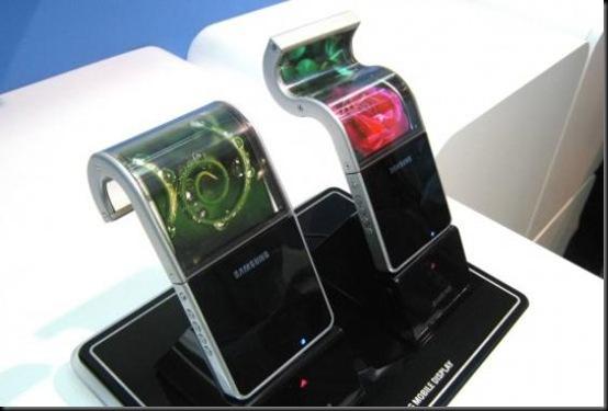 Aparelhos com telas flexíveis serão chegando; Samsung, Nokia, Telas flexiveis