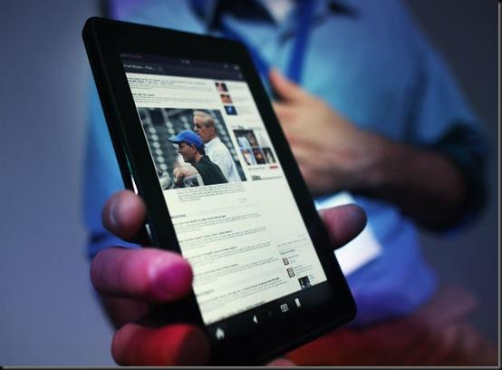 Em duas semanas, Kindle Fire já é o segundo tablet mais vendido, Amazon, Kindle fire, tablet, mercado