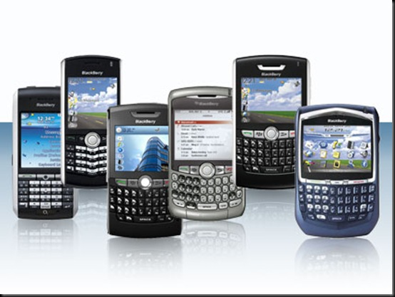 BlackBerry, BlackBerry domina 67% do mercado corporativo na América Latina, Smartphones, mercado, Em segundo lugar vem a Nokia, com 12,1%, seguida de Apple (8,3%), Motorola (5,2%), Samsung (4,1%), LG (2,2%), HTC (1,1%), Sony Ericsson (1%) e Palm (0,3%)