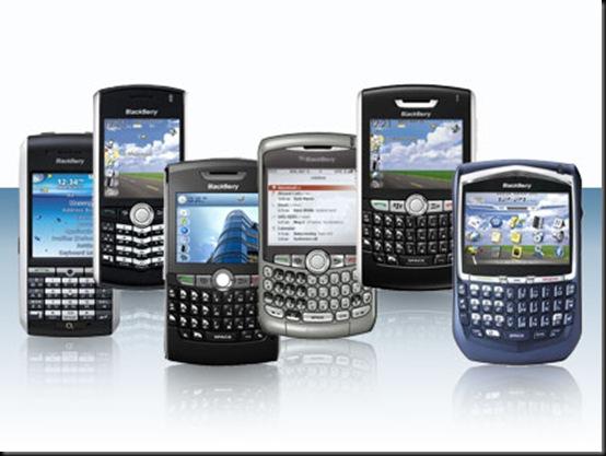 BlackBerry, RIM entra no mercado de gerenciamento de terminais, Serviço, BlackBerry Mobile Fusion, Smartphones