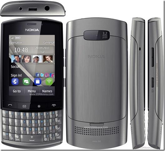 Nokia Asha 303 chega por 499 reais, Lançamento, Nokia, Smartphones, Symbian
