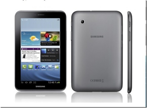 Samsung anuncia Galaxy Tab 2 com Ice Cream Sandwich, Samsung, Tablest, Android