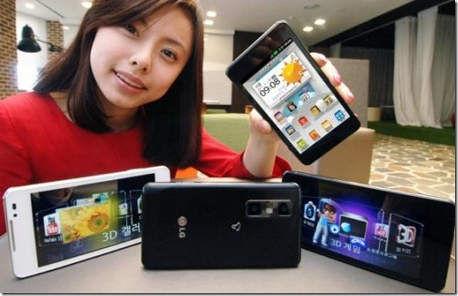 LG mostra Optimus 3D Max no Brasil, LG, Android, Smartphones