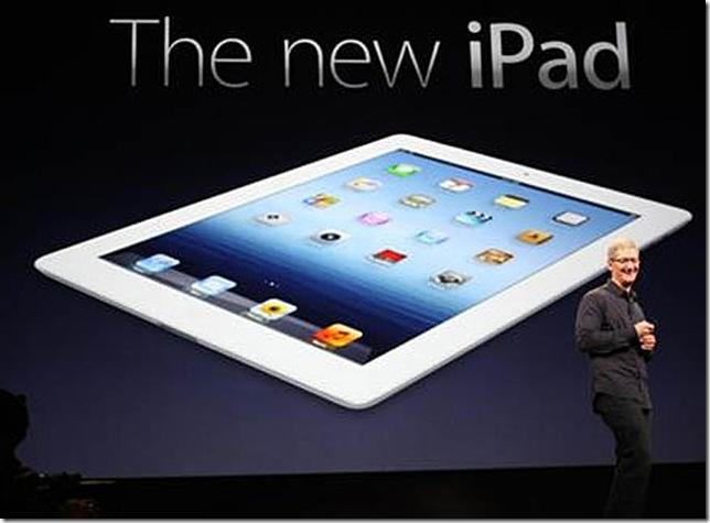Novo iPad chega com tela retina e CPU de 4 núcleos, iPad, Apple, Tablets, Lançamentos