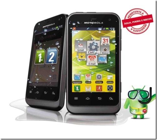 Motorola lança versão Dual-Chip do Defy Mini, Motorola, Smartphones