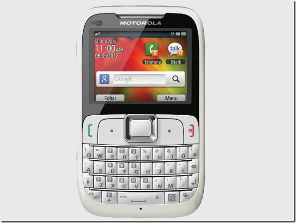 Motorola lança smartphone com sistema proprietário, Motorola, Lançamento