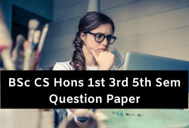 BSc CS Hons Question Papers