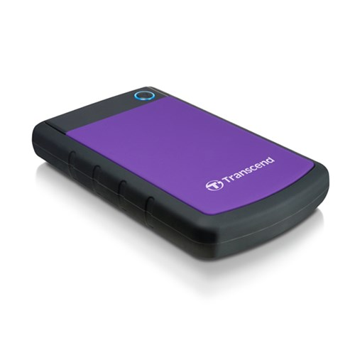 TRANSCEND STOREJET 25H3 2.5 INCH USB 3.0 EXTRA-RUGGED 1000GB (1TB) EXTERNAL HARD DISK DRIVE
