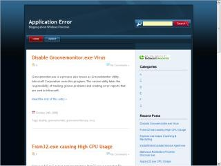 Where to find Windows Process Error Info