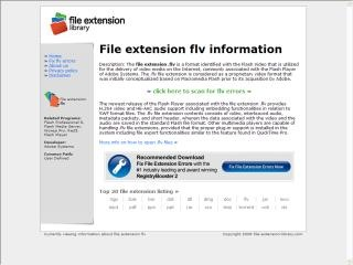 Reference: File Extension Library