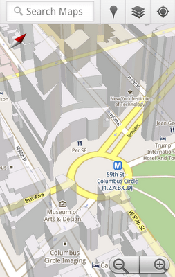 Google Maps 5 comes to Andriod–now with 3D buildings