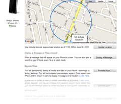 Hey Apple! Find my iPhone!
