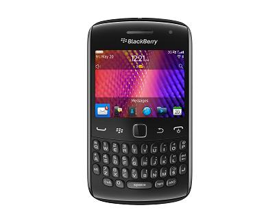 RIM Announces The New BlackBerry Curve Line Of Smartphones With OS7