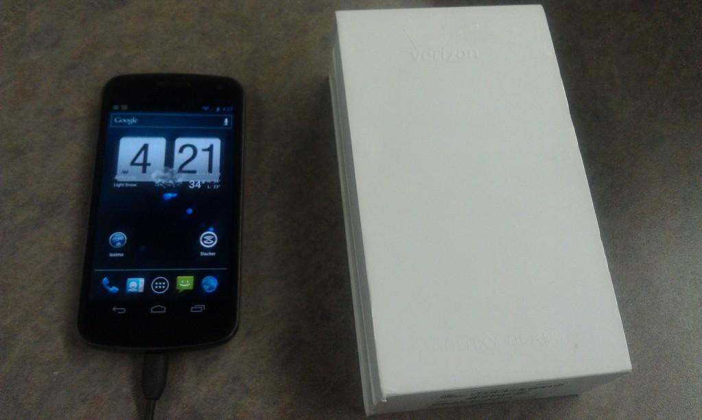 Hands On: Samsung Galaxy Nexus