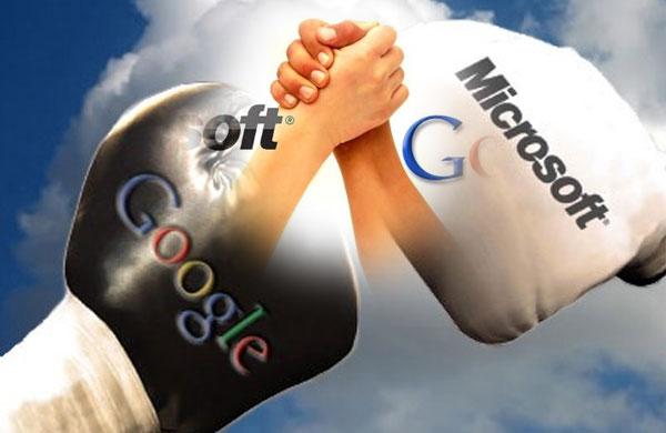 Google-Vs-Microsoft---Friends-or-Foes