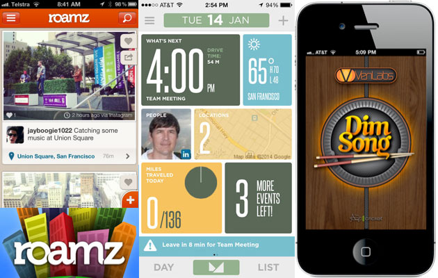 iPhone's Three New Apps Designed to Entertain