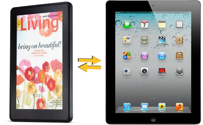Kindle Fire or iPad: Which one is hotter?