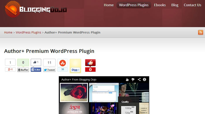 Author+ plugin with attractive features from WordPress