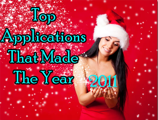 Top Applications That Made The Year 2011
