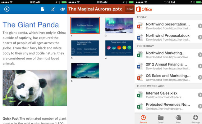 Latest on Microsoft's Horizons: Office App Launch for iPad