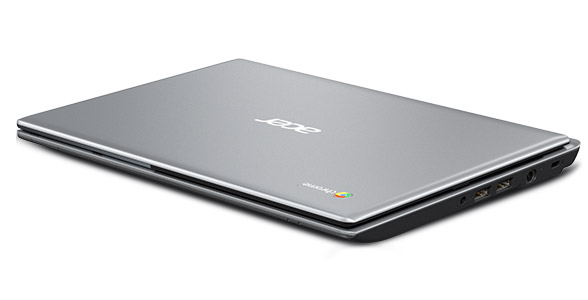 Acer C7 Chromebook front-closed