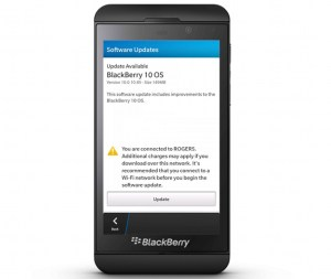 BlackBerry Juices Z10 Smartphone With OTA Software Update