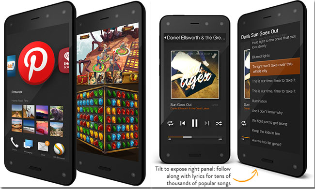 Amazon unveils Fire Phone with 3D display and Firefly