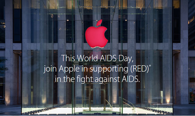 Apple aids AIDS fight