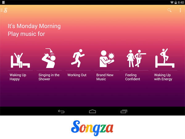Google has acquired music streaming service Songza