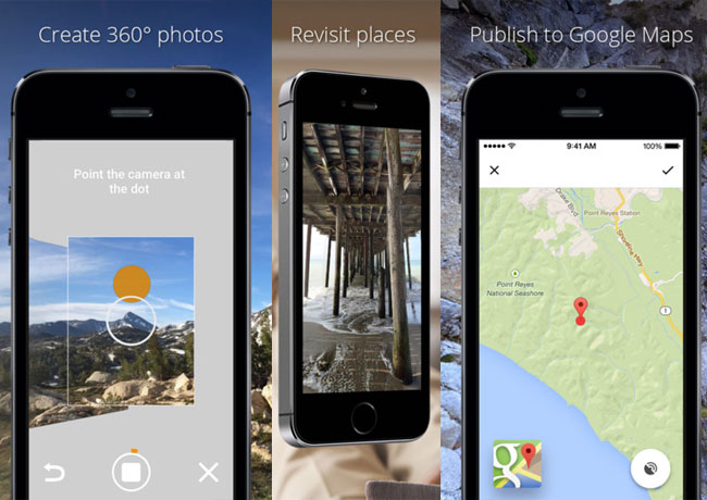 Google's Photo Sphere app (360 degree photos) comes to iPhone