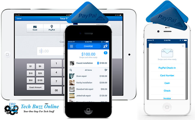 PayPal Here to get on-the-go sales reports