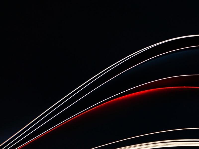 Abstract Wavy Dark Background