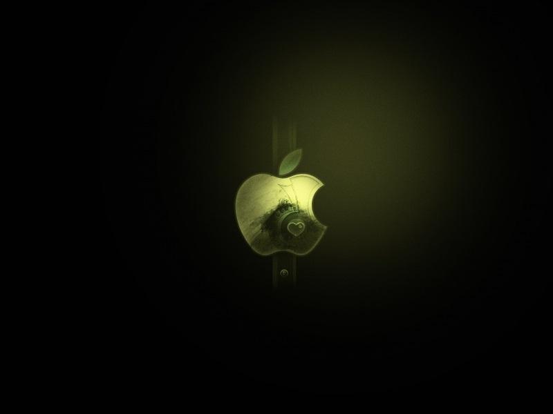 Dark Apple Mac