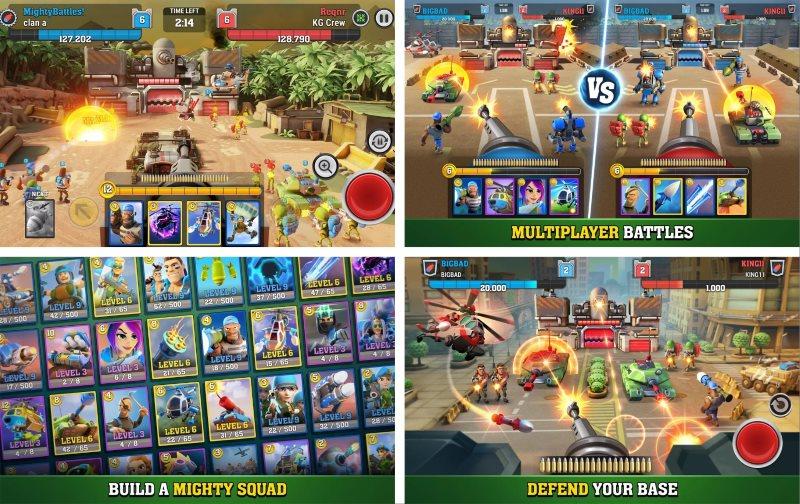 mighty battles screenshots