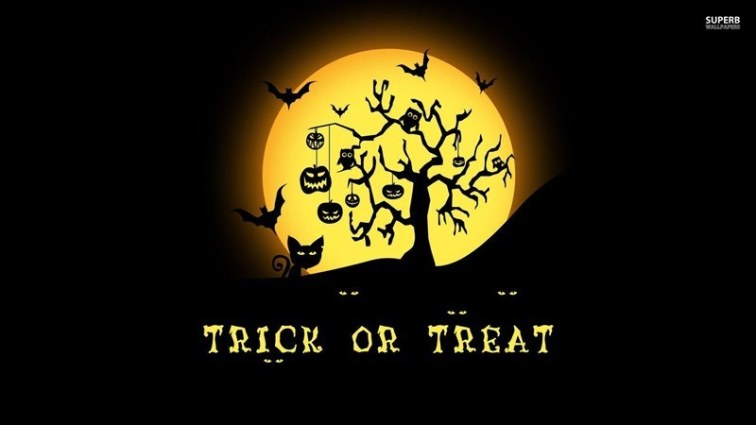 Trick or Treat Background