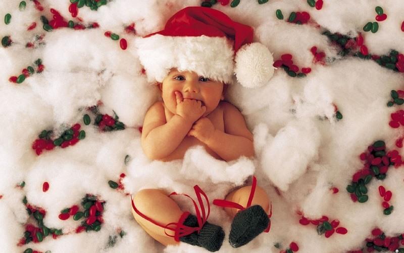 Christmas Baby Wallpaper