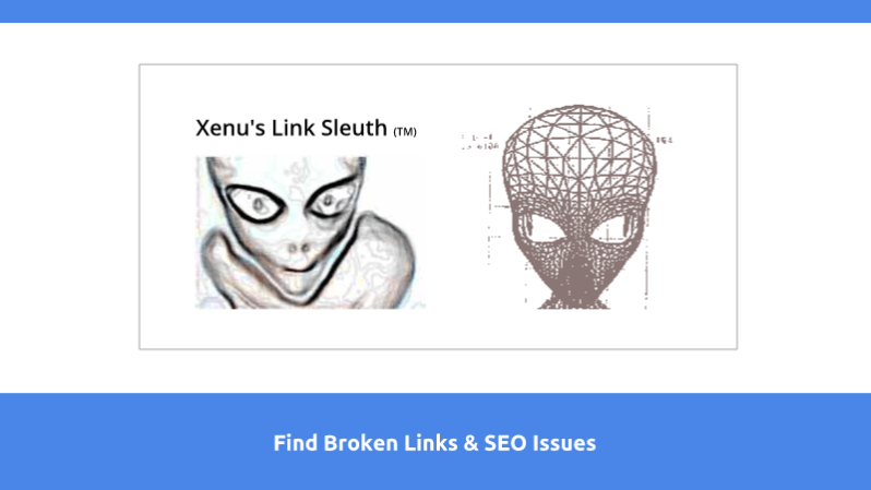 find broken links with xenu link sleuth