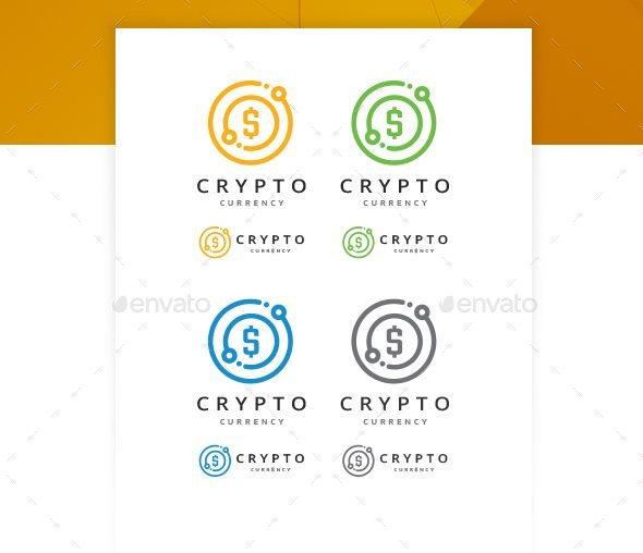12 bitcoin crypto currency logo