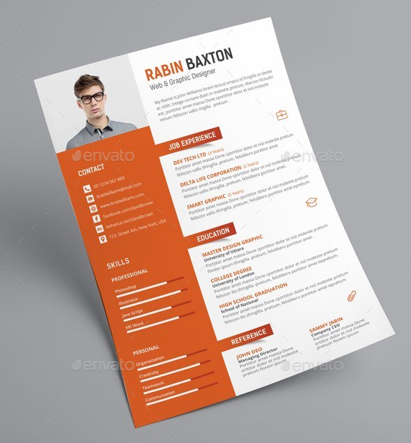 12 creative resume cv
