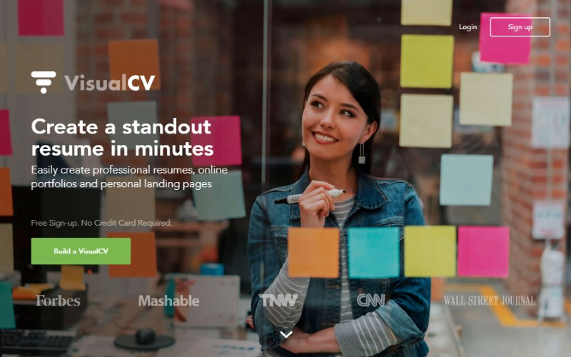 13 visualcv create a standout resume in minutes