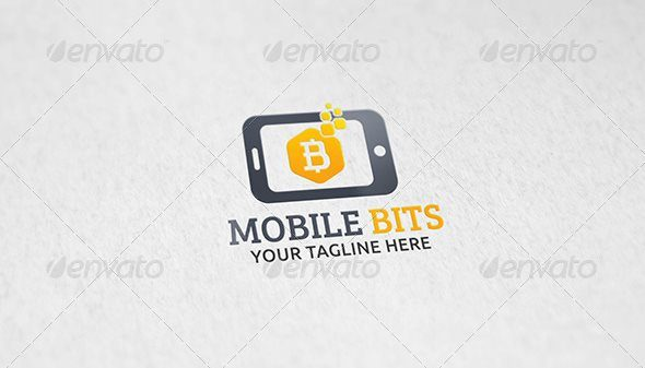 15 mobile bits logo template