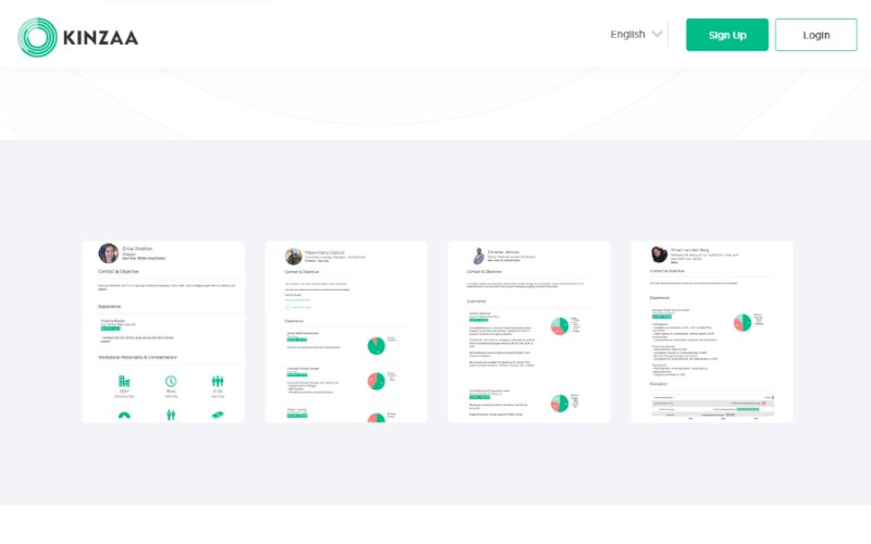 2 kinzaa infographic resume