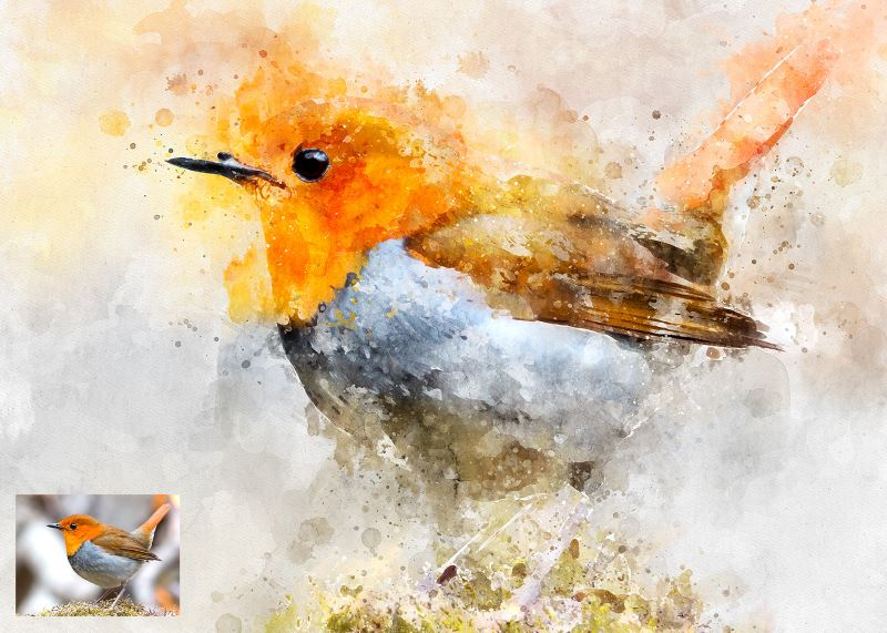 20 Best Watercolor Photoshop Actions